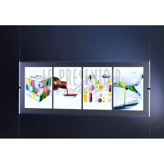 Porte Affiche LED Panoramique