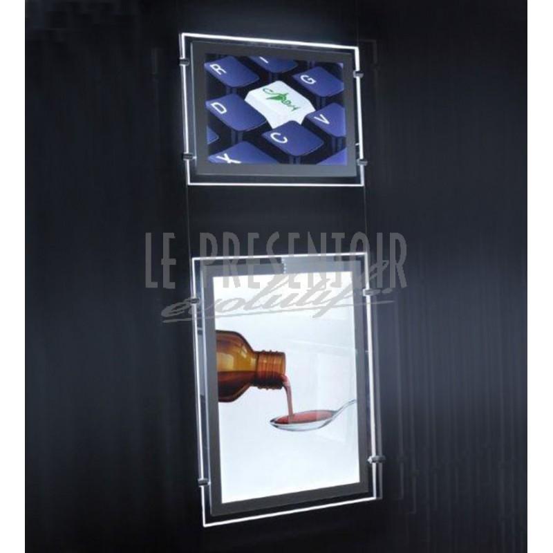 Porte Affiche LED Alpha