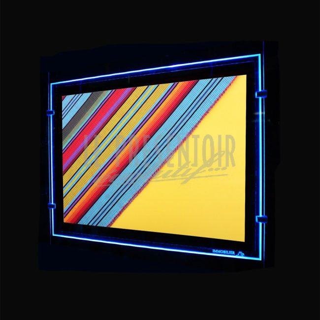 Porte Affiche LED Colorz