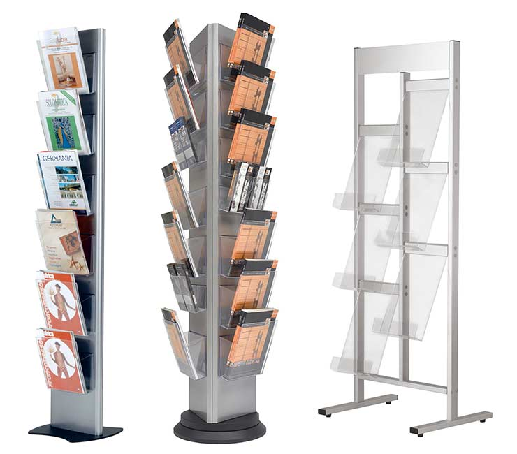 Trouver des présentoirs adaptés à sa taille ou à son utilité n'est pas une mince affaire.